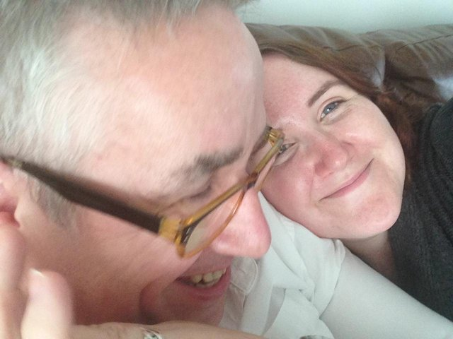 Rod Mckie with his daughter Kim picture: supplied