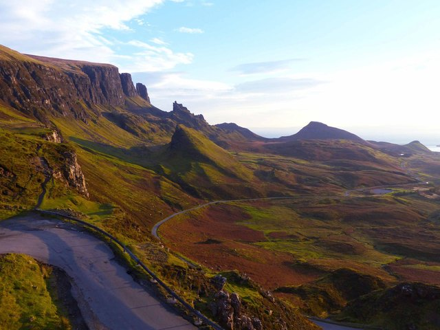 The Isle of Skye, a popular place for staycations when they were permitted in the summer last year picture: McKinlay Kidd/PA