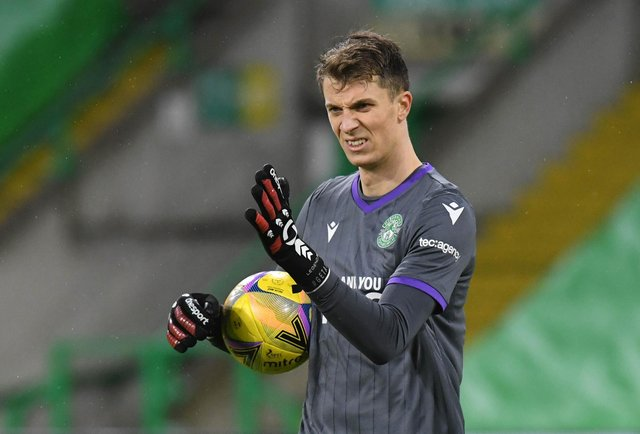 Hibs goalkeeper Matt Macey has extended his stay with the club until 2023. Picture: SNS