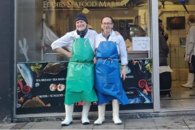 Takeover; Campbell Mickel is buying  Eddie Kwouk's famous seafood market