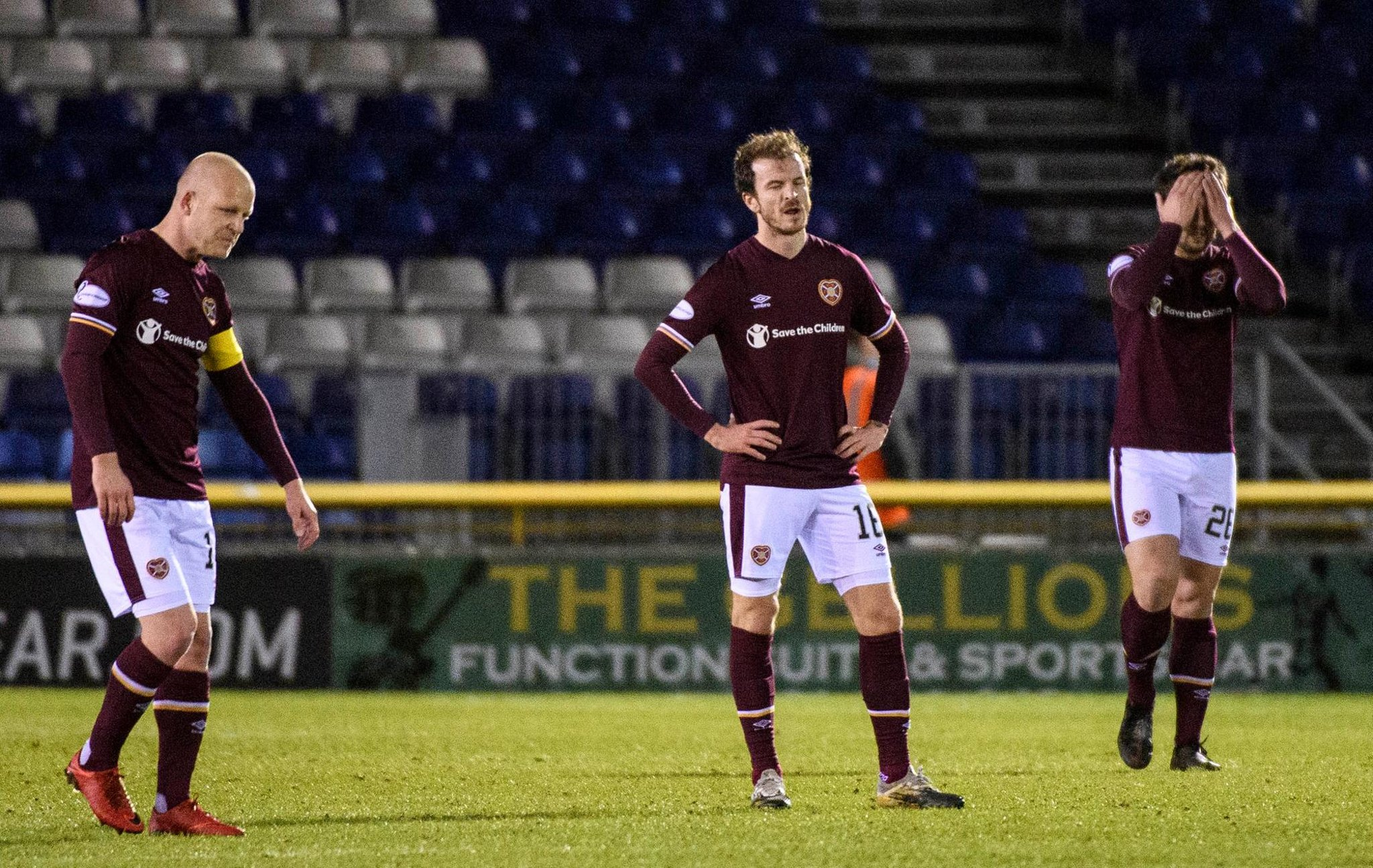 How the Hearts players rated in 1-1 draw with Inverness CT