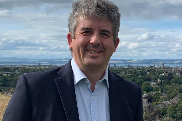 Fred Mackintosh was speaking at an online hustings organised by Gorgie/Dalry community council
