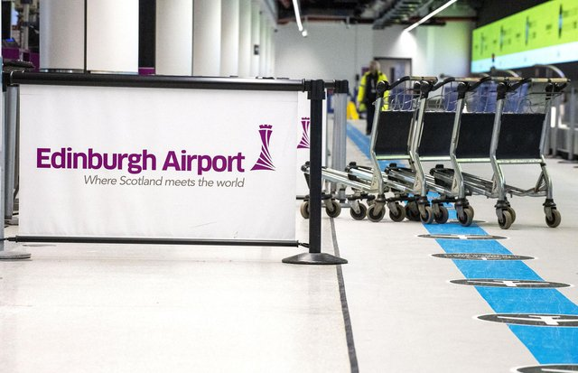 A new flight path has been announced from Edinburgh Airport to Latvia.