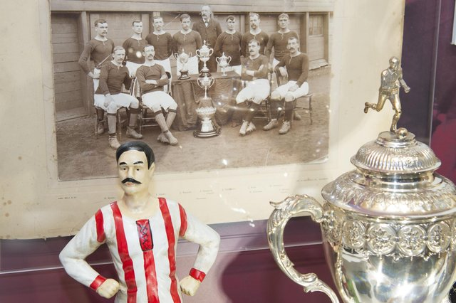 The Hearts museum has been shut to fans during the coronavirus pandemic. Picture: Contributed