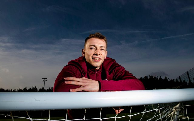 Lewis Moore is making a new start with Queen's Park.