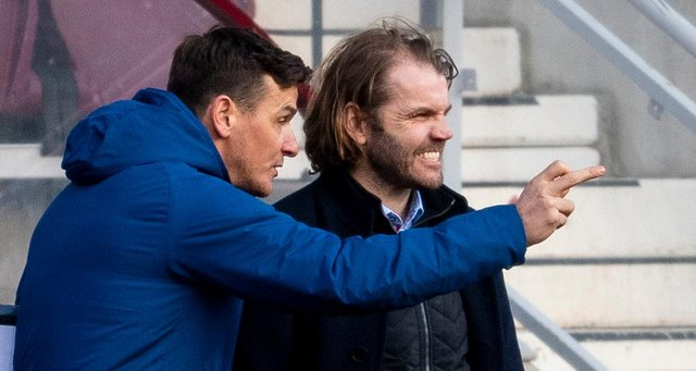 Robbie Neilson will be able to welcome back Craig Gordon and Michael Smith for the clash with Dunfermline. Picture: SNS