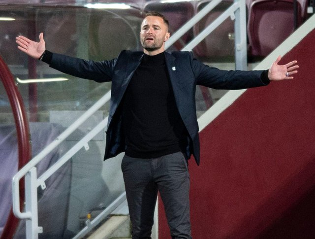 """Dundee boss James McPake has said """" a lot has changed"""" since his side last played at Tynecastle. Picture: SNS"""