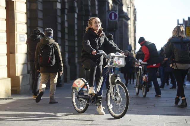 The cycle hire scheme was launched three years ago