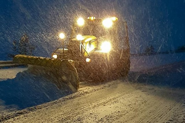 Extra gritting will require additional staff. Picture: BEAR Scotland