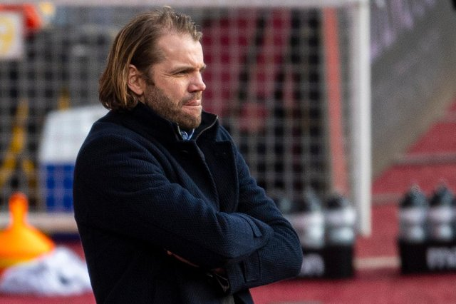 Hearts manager Robbie Neilson is preparing his team to face Arbroath.