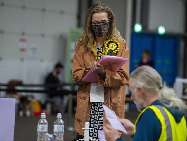 Counting underway in Edinburgh