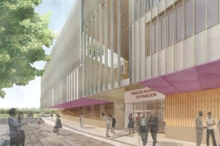 How the new eye hospital at Little France could look