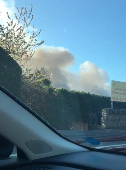 Emergency services deal with fire at Edinburgh nursery.