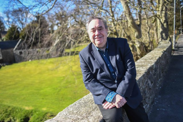 Former Scottish First Minister Alex Salmond poses for a portrait on March 27, 2021 in Strichen. Picture: Peter Summers/Getty Images