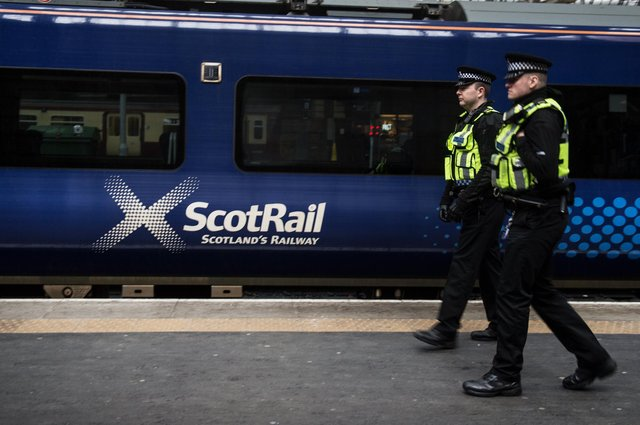 British Transport Police are understood to have dealt with the situation.