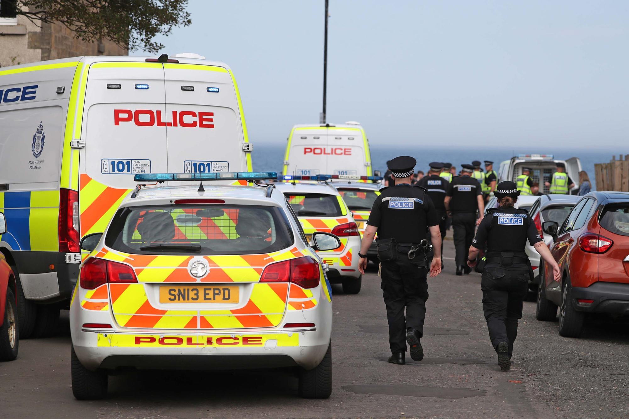 Two teenagers arrested over Portobello beach disturbance