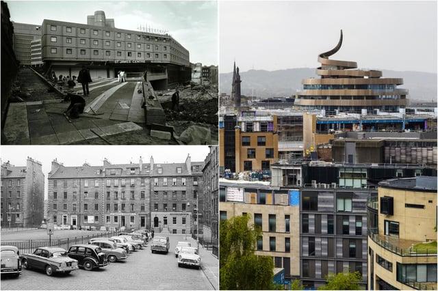 Edinburgh's St James district has been reimagined multiple times.