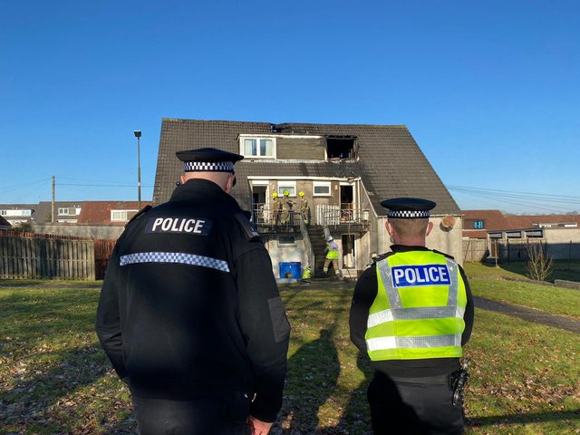 Firefighters have put out a fire at family home in Whitburn that started in the early hours of Monday morning.