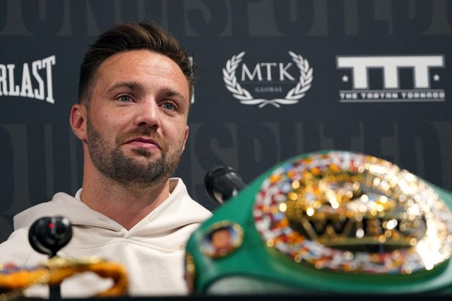Josh Taylor, the undisputed light-welterweight champion. Picture: Kirsty O'Connor/PA Wire