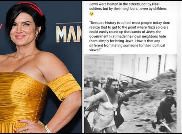 What did Gina Carano say? Why actor has been fired from Disney+ show The Mandalorian after 'abhorrent' Instagram post - and her response