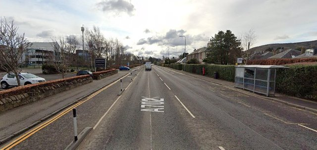 A teenage girl was struck by a car at around 5pm on Buckstone Terrace on Monday, June 21 (Photo: Google Maps).