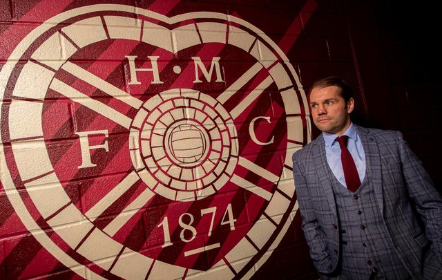 Robbie Neilson has been unveiled as Hearts boss for the second time. Picture: SNS
