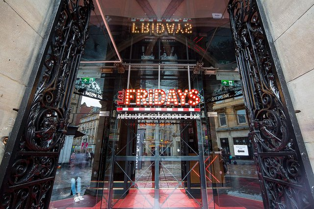 Fridays confirmed today that their restaurants would reopen from Monday