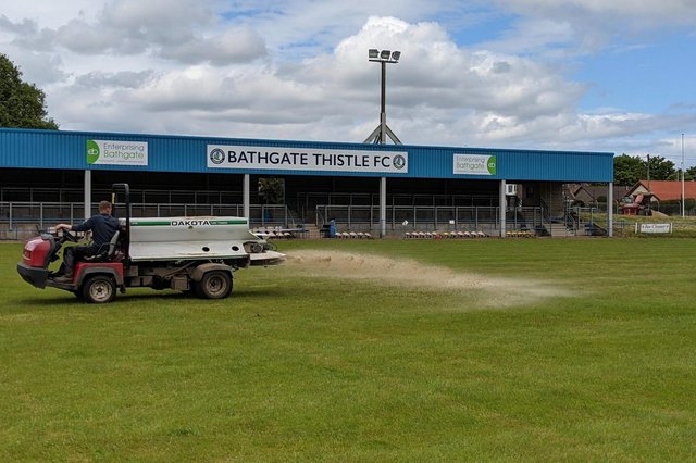 Bathgate Thistle are preparing Creamery Park for a new era in the East of Scotland League football this season