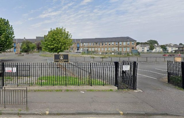 Granton Primary School on Boswall Parkway will be closed on both June 24 and June 25 as a result of number of positive covid cases at the school (Photo: Google Maps).