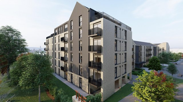 The 140 new flats will include 11 affordable homes
