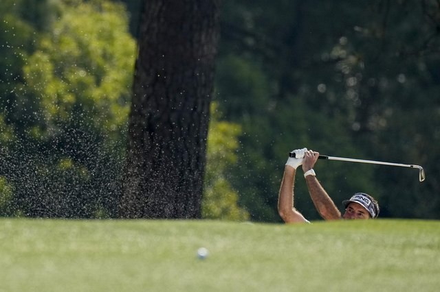 Hayley Matthews' nine-year-old has discovered the great game of golf (Picture: Matt Slocum/AP)