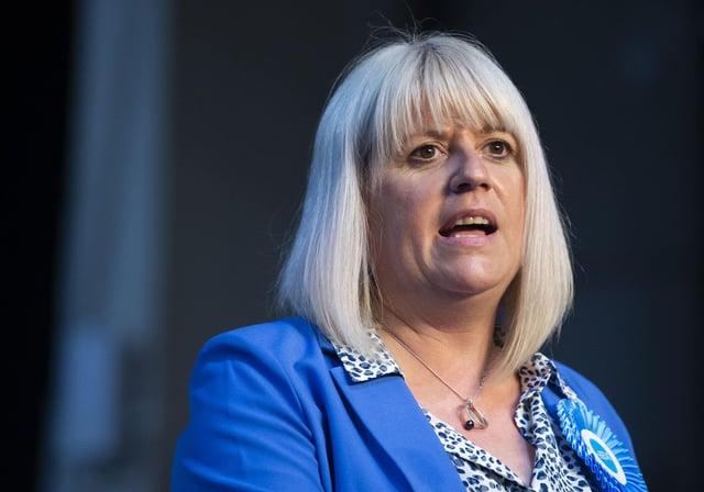 Susan Webber will combine parliament and council roles      SCOTTISH CONSERVATIVES - SUSAN WEBBER     Scottish Election 2021 - Ingilston    List REsults    Scottish Election 2021 - Day 2 at count at Highland Centre, Ingilston