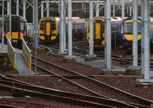 Any strike could hit Sunday trains. Picture: John Devlin