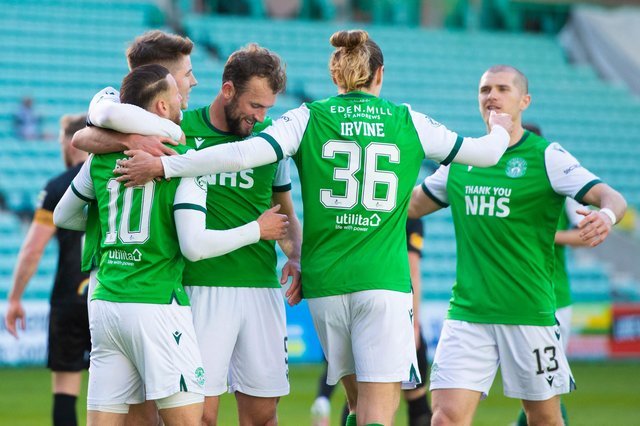 Hibs have qualified for European football.