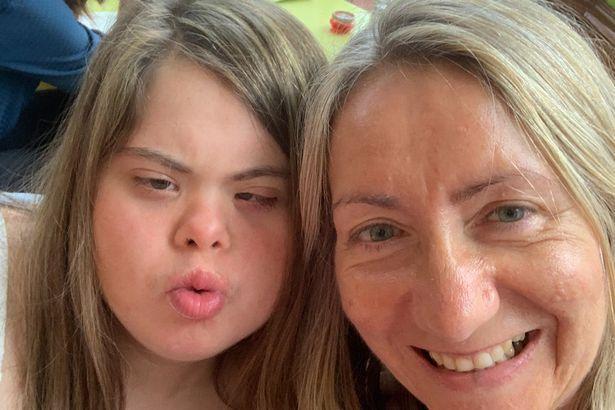 Lynn Murray with daughter Rachel.
