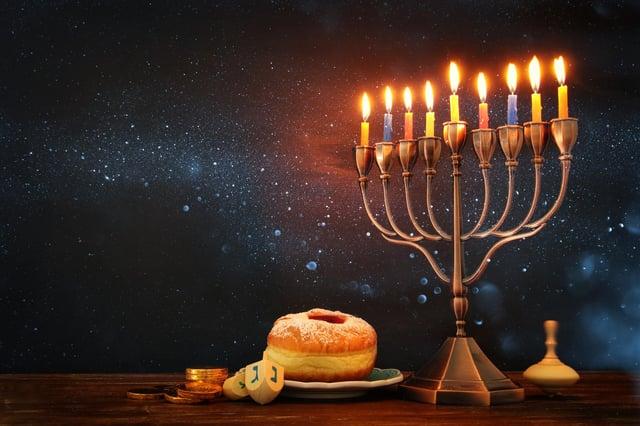 Hanukkah is celebrated over eight days