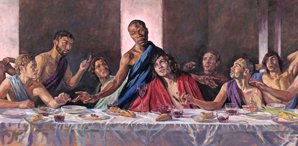 What did Jesus look like? Where Christ came from - and why St Albans Cathedral has put up a painting of the Last Supper with a black Jesus