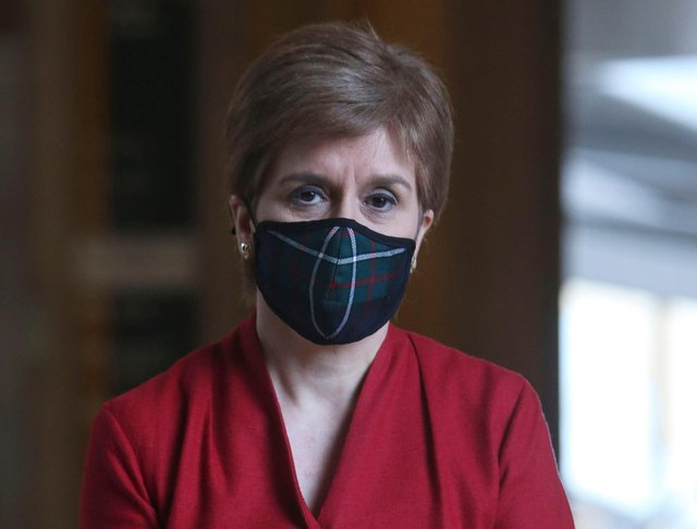 Last week Nicola Sturgeon unveiled her roadmap out of lockdown in the form of four phases (Getty Images)