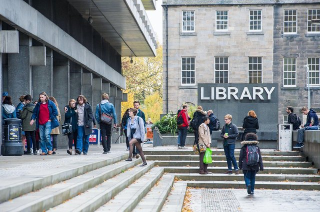Economist Mark Gregory says the University of Edinburgh could be a reason as to why Edinburgh had an increase in Foreign Direct Investment as Scotland overall sees a rise in investment (Photo: Ian Georgeson).