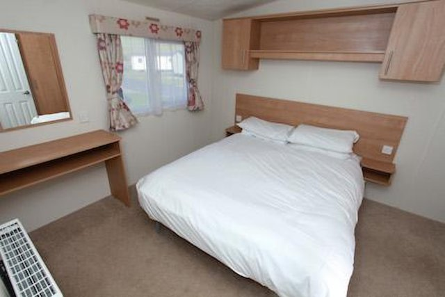 Caravans come with bed linen and beds made up, with cots available.