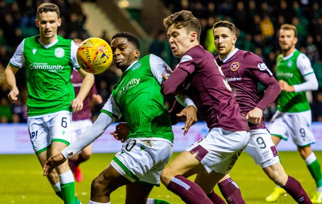 The Edinburgh derby was missing from the top flight last season as Hearts competed in the Scottish Championship. Picture: SNS