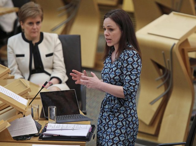 Finance secretary Kate Forbes. Picture: Fraser Bremner/Scottish Daily Mail