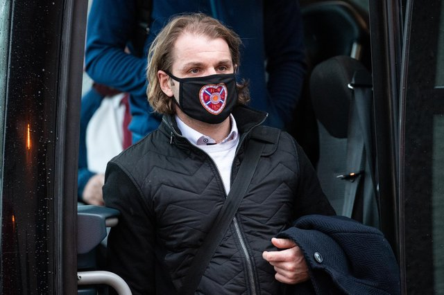 Robbie Neilson is aiming for a top six finish with Hearts next season. (Photo by Ross Parker / SNS Group)