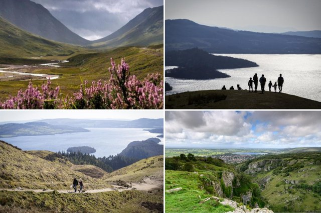 Study reveals top ten places to go on road trips in the UK.