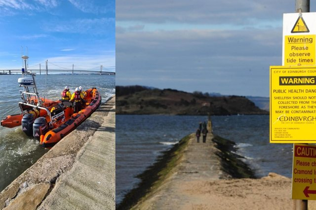 RNLI release plea to public as they are called out every single day this week to Cramond Island