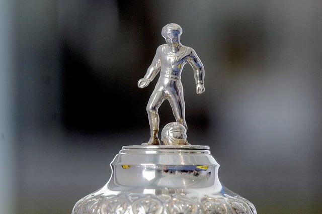 Scottish Cup trophy. SFA Scottish Cup trophy. Picture Michael Gillen.