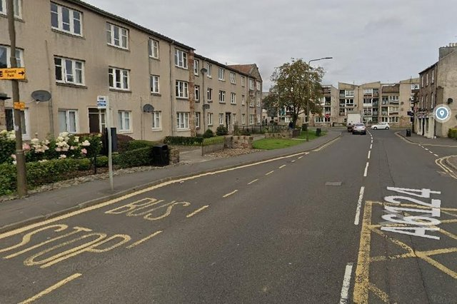 A youth has been charged after police receiveda report on April 12 of a bus driver being verbally abused and his bus spat at whilst stopped on Newbigging inMusselburgh  (Photo: Google Maps).