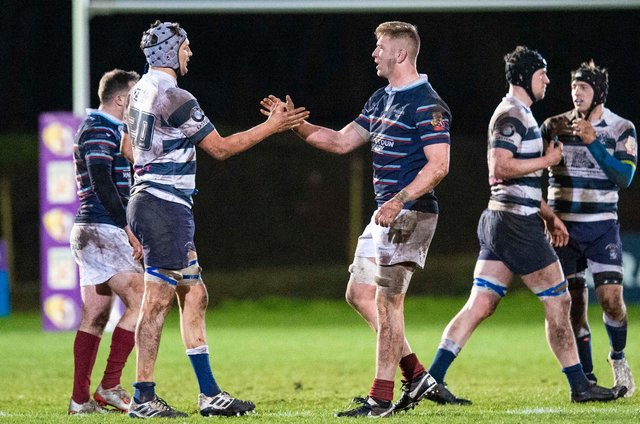Watsonians and Heriot's were the two top sides in Super6 when the season was suspended.