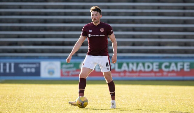 John Souttar is fit and ready for the new season with Hearts.