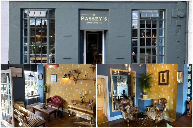 Passey's in Portobello High Street has opened its doors for the first time on Wednesday, September 9